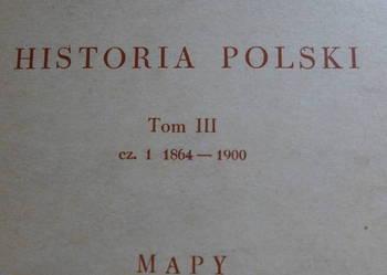 Mapy Polski 1864-1900 komplet dla konesera wyd. PWN 1964 PRL