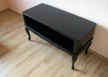 AKANT, Szafka RTV, półka, stolik pod telewizor, glamour