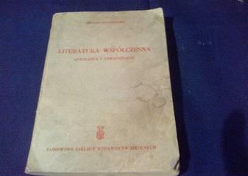 Literatura współczesna Antologia i opracowanie