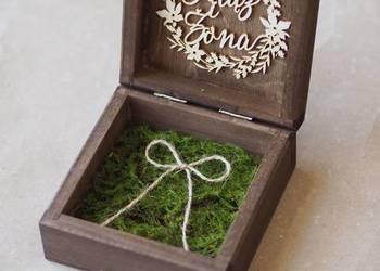 Pudełka na obrączki - szkatułki na ślub