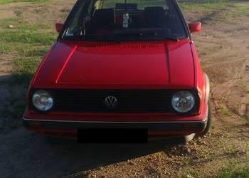 VW Golf II 1.3  BISTRO benzyna/gaz BDB stan ekonomiczny