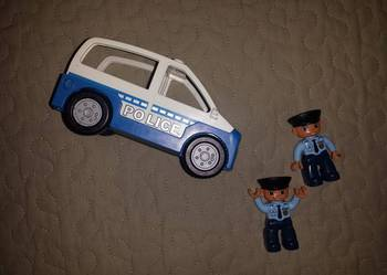 POLICJA samochód policyjny policjant LEGO DUPLO