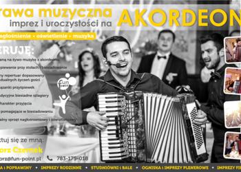AKORDEONISTA - oprawa muzyczna imprez i uroczystości