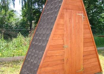 WC SZALET TOALETA ogrodowa
