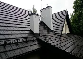 Malowanie dachów, malowanie dachówki, remont dachu, Kraków