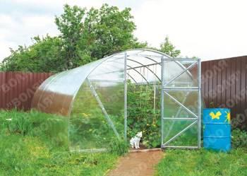Szklarnia ogrodowa, przydomowa z poliwęglanem Dacznaja-Eko