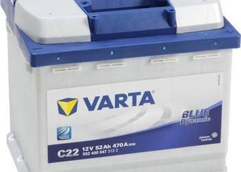 Akumulator VARTA BLUE C22 52Ah/470A
