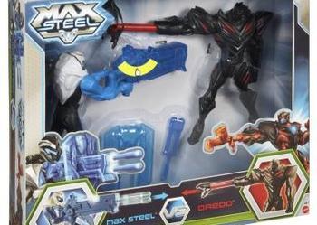 Zestaw 2w1 Figurki Max Steel i Elementor MATTEL Y1408