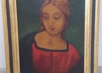 malarstwo, cenny obraz na płótnie,  renesansowa dama