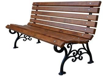 Piękna ławka do ogrodu o długosci 150 cm - POLSKA