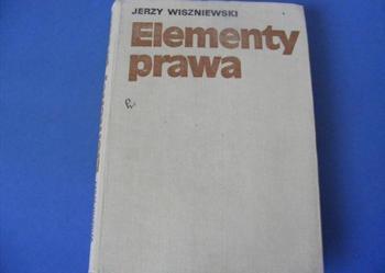 Elementy prawa Jerzy Wiszniewski