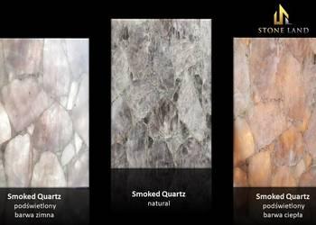 Panel dekoracyjny z kwarcu dymnego Smokey Quartz