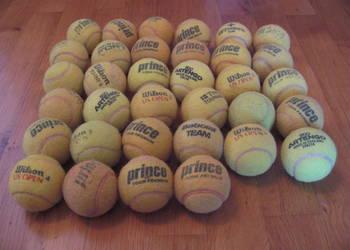 Piłki do tenisa 34 sztuki