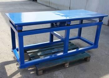 Stół wibracyjny 2,0 m długości KARKON płyty