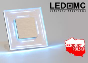 Oprawa schodowa Oświetlenie Schodowe LED 230 V RUTEN