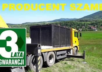 Zbiornik dwukomorowy z najazdem na szambo 12m3 PRODUCENT Sza