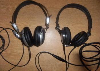 Profesjonalne słuchawki SONY MDR-V250 oraz iWave