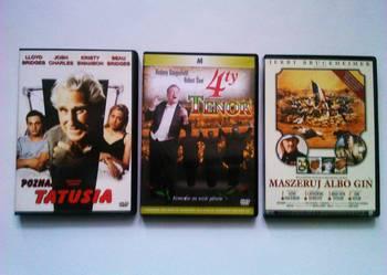 3 filmy na DVD