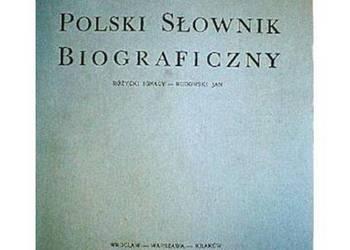 POLSKI SŁOWNIK BIOGRAFICZNY TOM XXXII/4 ZESZYT 135