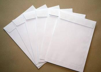 Koperty białe C5 162x229 10szt.
