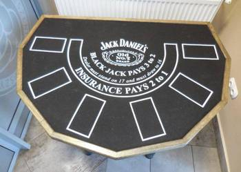 STÓŁ DO BLACKJACKA JACK DANIELS OKAZJA! na sprzedaż