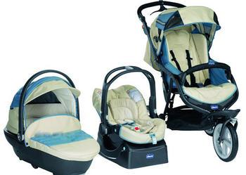 Wielofunkcyjny wózek Chicco Trio S3 3w1