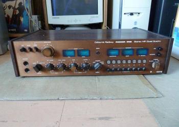 Radmor 5102 amplituner polska produkcja (sprawny) z kablami i gł