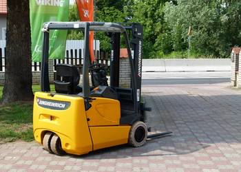 Wózek Widłowy Jungheinrich EFG-DF 16 elektryczny 1,3 t
