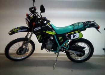 Kawasaki KMX 125 28-30 PS zarejestrowany na kat. B
