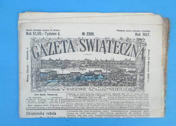 21. Gazeta Świąteczna Rok wydania 1927 - Bezpłatna wysyłka.