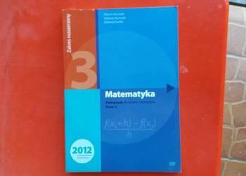 Matematyka podręcznik do liceów i techników klasa 3