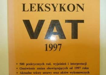 LEKSYKON VAT 1997 - ZUBRZYCKI JANUSZ
