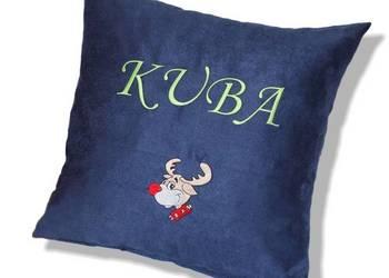 Poduszka z Imieniem dla Dziecka Prezent na Święta Mikołajki