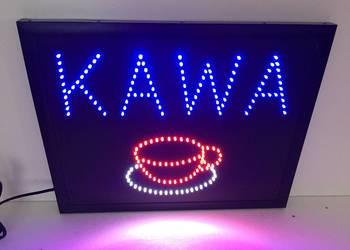 KAWA Reklama diodowa LED 50x40cm zewnętrzna NOWA Producent