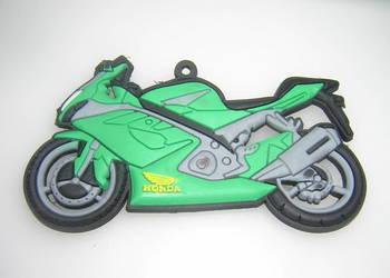 Honda zielona motor motocykl magnes na lodówkę