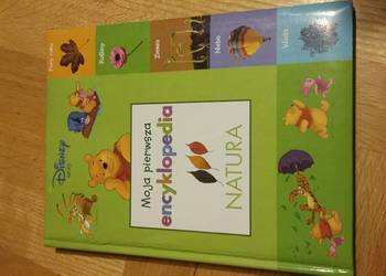 """książka """"Moja pierwsza encyklopedia NATURA"""""""