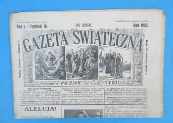 16. Gazeta Świąteczna Rok wydania 1930 - Bezpłatna wysyłka.