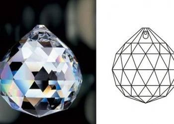 3 cm kula kryształowa- piękny kryształ