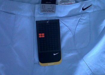 Nike rozm.36,spodnie DRI FIT, nowe, błękitne, MODNE,z regulacją w pasie