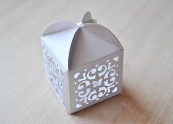 Pudełeczka, pudełka podziękowania dla gości
