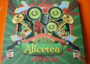 "Płyta CD Alicetea ""Muzyka moja broń"""