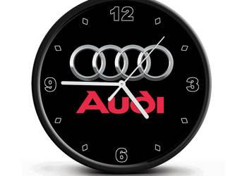 Zegar ścienny Audi (cichy) idealny na prezent