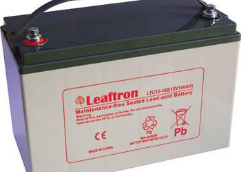 Akumulator Leaftron/Yuasa 12V 100Ah Jachty, Łodzie,