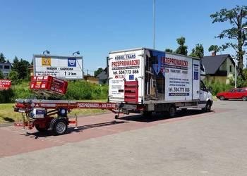 Kobiel-Trans Katowice Przeprowadzki Transport Winda meblowa