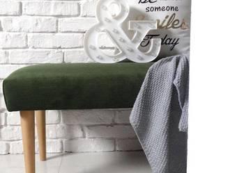 Ławka tkanina zmywalna ławeczka pufa NA WYMIAR wybierz kolor