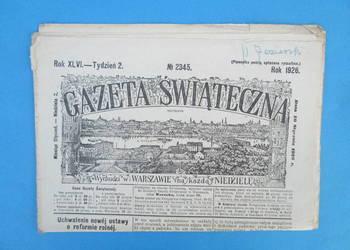 23. Gazeta Świąteczna Rok wydania 1926 - Bezpłatna wysyłka.