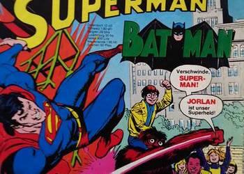 Komiks superman 1980r po Niemiecku