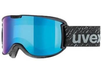 UVEX gogle Downhill 2000 FM mirror blue clear (S2) nowość