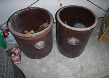 Beczka ceramiczna garnek kamionka 50L beczka do kiszenia