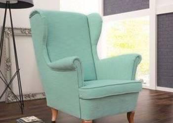 Fotel uszak w kolorze miętowym - Duży Wybór !!!